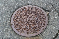 Even the manholes are artistic