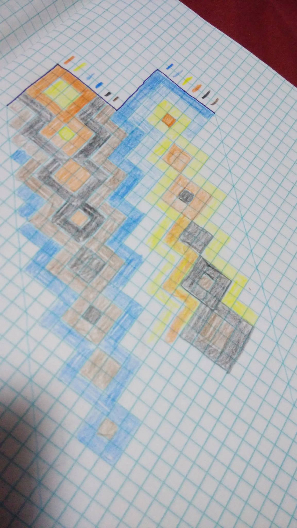its not always so easy if youre dealing with a new pattern or trying to make up a new one back in the day i made a bracelet specific graph paper that