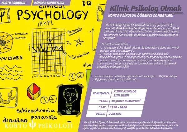 Klinik Psikolog Olmak / 4 Mart
