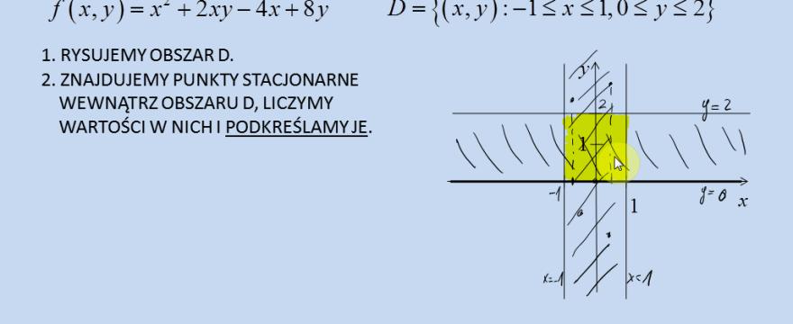 Lekcja 8 – Największe i najmniejsze wartości funkcji (ekstrema globalne)