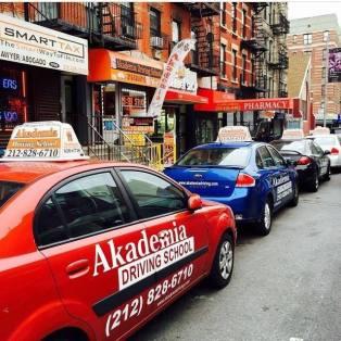 Akademia Driving NYC Cars