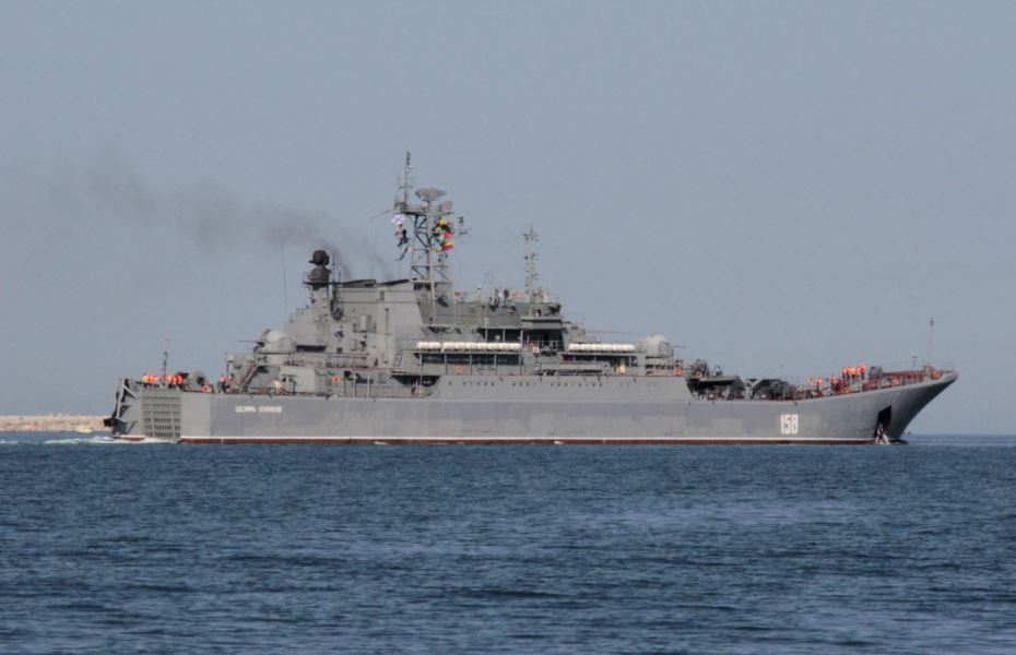 Russia Sends Naval Ships