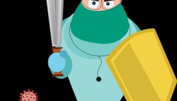 covid doctor, fight corona, st
