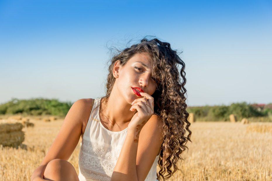 model, woman, portrait