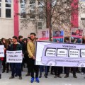 Üniversitelilerden ulaşım ücreti protestosu