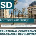 Uluslararası Sürdürülebilir Kalkınma Konferansı – INTERNATIONAL CONFERENCE ON SUSTAINABLE DEVELOPMENT (ICSD)