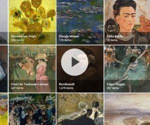 Google'dan telefonları sanat müzesine dönüştüren uygulama
