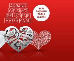 Akbank & Sabancı Üniversitesi Girişimci Geliştirme Programı