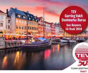 TEV-Garring Vakfı Danimarka yüksek lisans bursları
