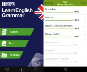 British Council'dan Ücretsiz İngilizce Dilbilgisi Uygulaması
