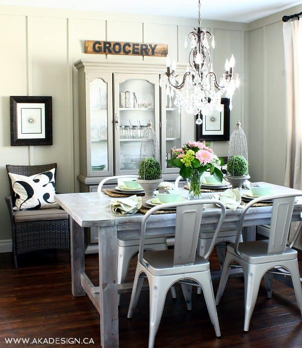 Cottage Farmhouse Dining Room