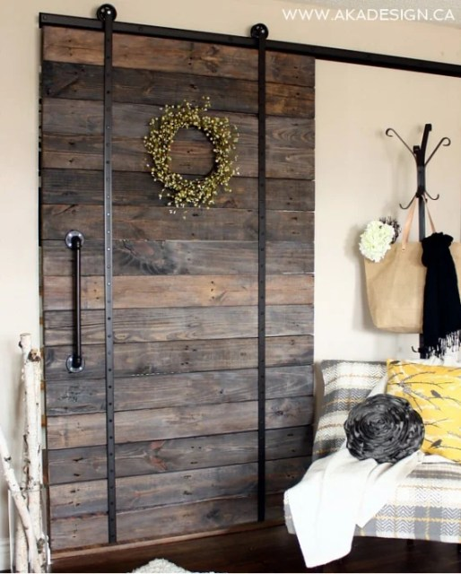 UPCYCLED BARN DOOR no title