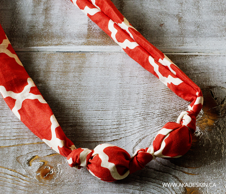 INSERT BEADS AND TIE MORE KNOTS