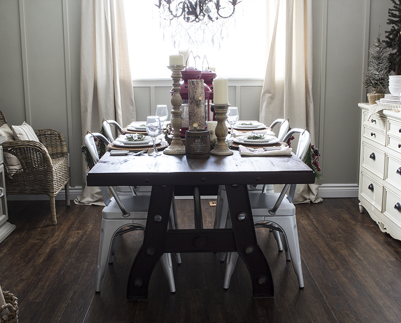 AKA Design Rustic Industrial Dining Room 1