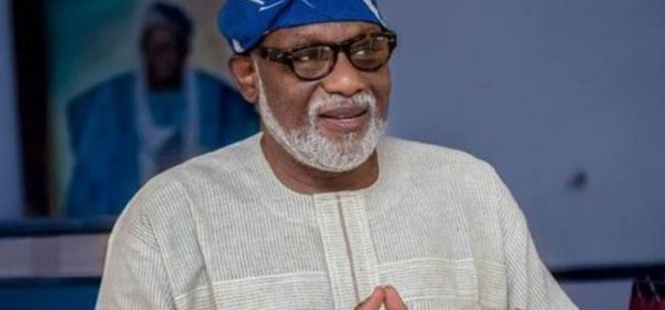Governor Rotimi Akeredolu of Ondo State