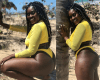 Curvy Nigerian Lady Causes A Stir On Twitter With Her Revealing Swimsuit Photos