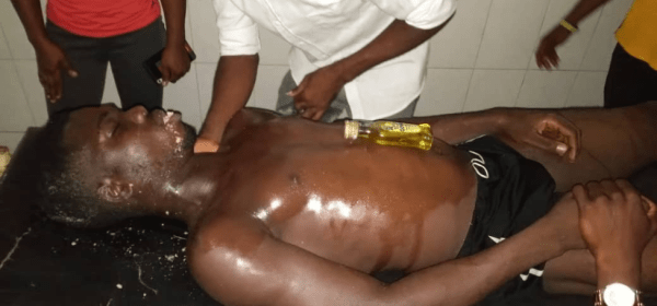 Graphic Photo Of Corpse Of CRUTECH Student Who Lost His Life During Pool Party