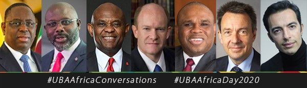 President Weah, US Senator Coons, Elumelu, Other Global Leaders at the 2nd UBA Africa Day Conversations Urge Government, Private Sector Collaboration lindaikejisblog3