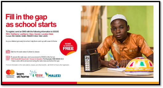 1 million disadvantaged school children to benefit from Learn at Home Project by Data Science Nigeria/Malezi in partnership with the Mastercard Foundation lindaikejisblog6