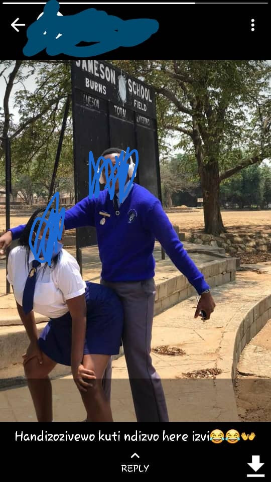 Zimbabwean kids posing for s3xually suggestive photos in school while teachers are on strike sparks concern lindaikejisblog 7