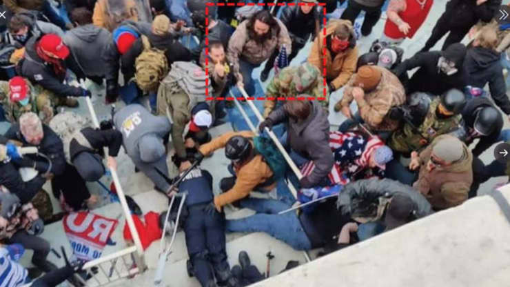 Capitol rioter denied bail after admitting dragging cop down the stairs lindaikejisblog
