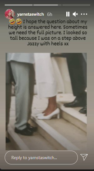 Don Jazzy's ex-wife, Michelle Jackson talks about being taller than him in their wedding photo 1