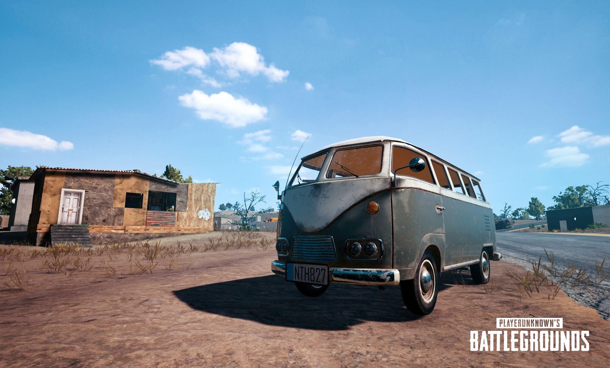 【PUBG】新しい車両はバス!?現在制作中の新車両のデザインが公開