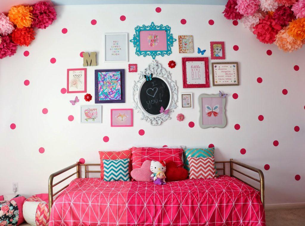 Madeline's Pink Polka Dot Room