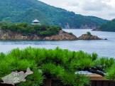 江戸時代の朝鮮使節団従事官の李邦彦が客殿からの眺望を「日東第一形勝(朝鮮より東で一番美しい景勝地という意)」と賞賛した