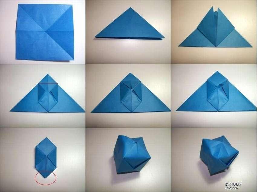 шар оригами своими руками