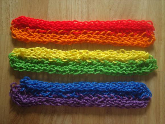 вязание без спиц руками
