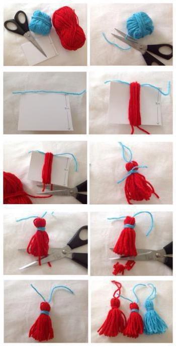 Comment faire un coup de poing du fil. Instructions pas à pas avec photos, vidéo