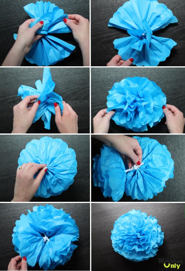 如何制作纸球
