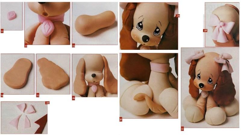 Một con chó từ plasticine - 180 bức ảnh của những ý tưởng bất thường để tạo thủ công. Lớp tổng thể chi tiết về mô hình làm tự mình cho trẻ em
