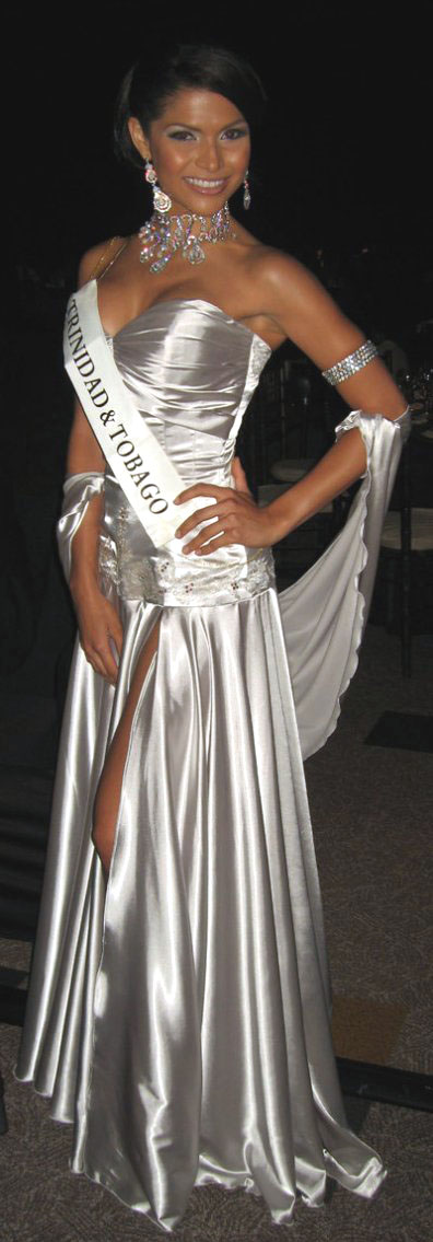 Gabrielle Walcott Miss Trinidad and Tobago 2008
