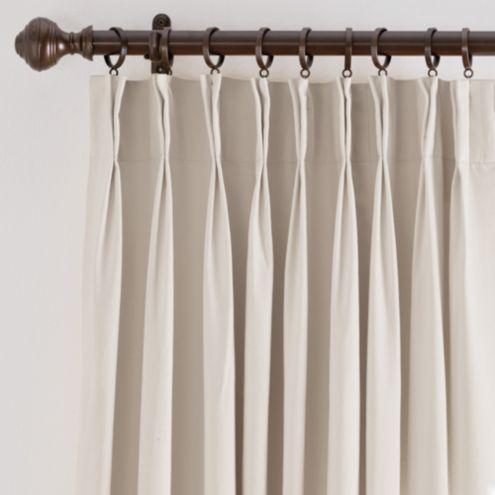 double wide curtain panels ballard