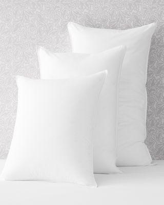 garnet hill signature primaloft luxury pillow