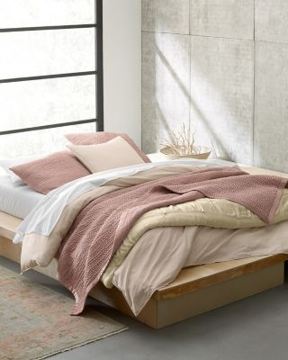 eileen fisher waves washed silk quilt sham and pillow covers