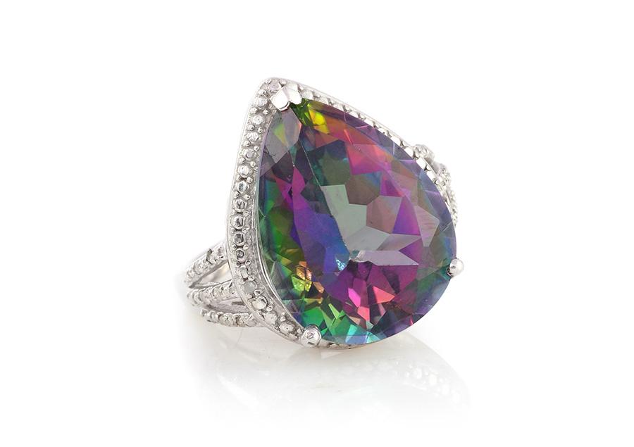 Gemstone Mystic Fire Topaz Jewelry Information Meaning