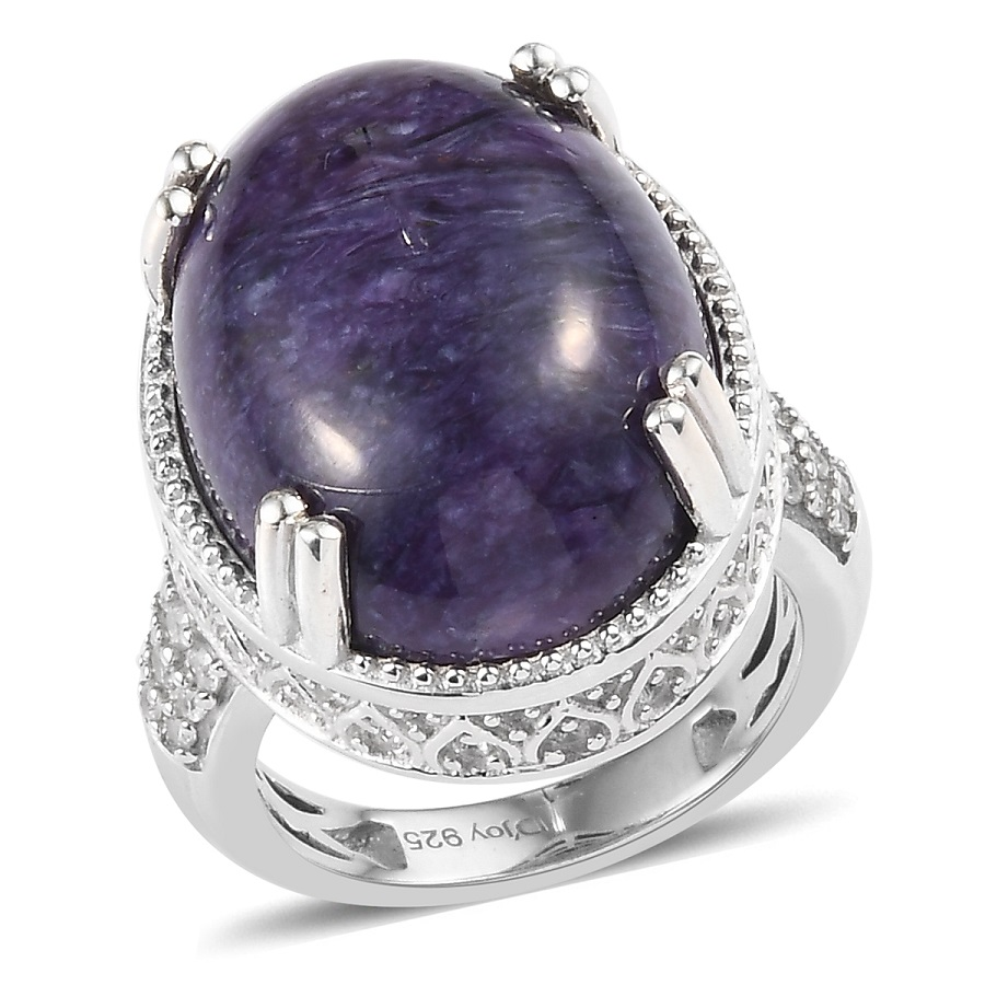 Charoite Stone Meaning Properties And Jewelry Information
