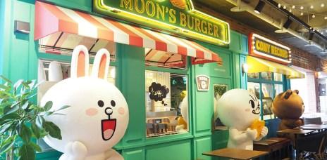 韓國首爾梨泰院 LINE CAFE 熊大兔兔♥︎咖啡&冰淇淋