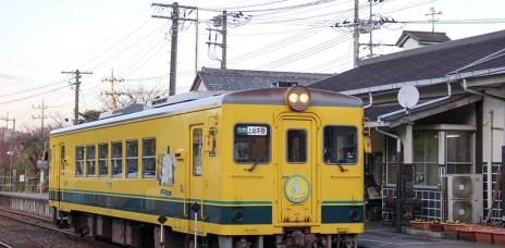 日本千葉⎮東京近郊小旅行 嚕嚕米夷隅鐵道列車