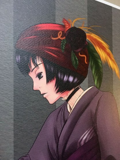 Kimono Princess 1 detail