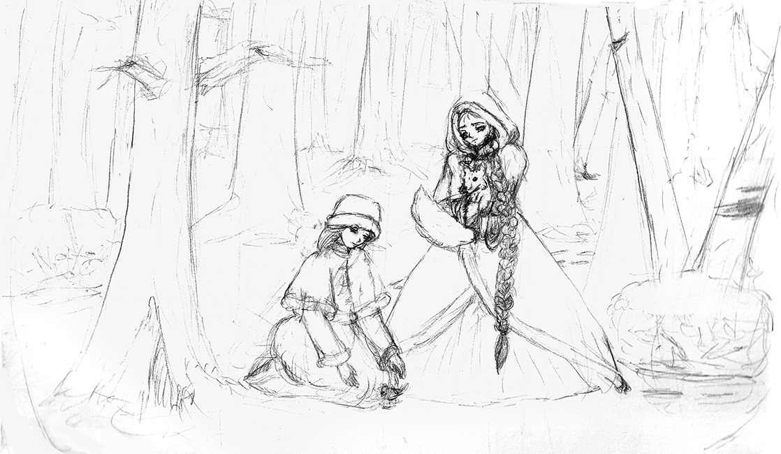 Snow Beauties pencil