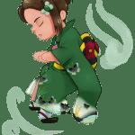 Chibi Licia in Kimono