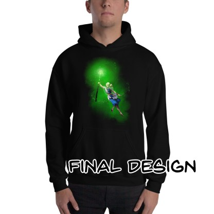 Divination Naomi Hooded Sweatshirt Black Final Design