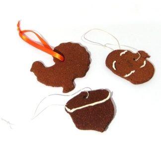 Cinnamon Fall Ornaments