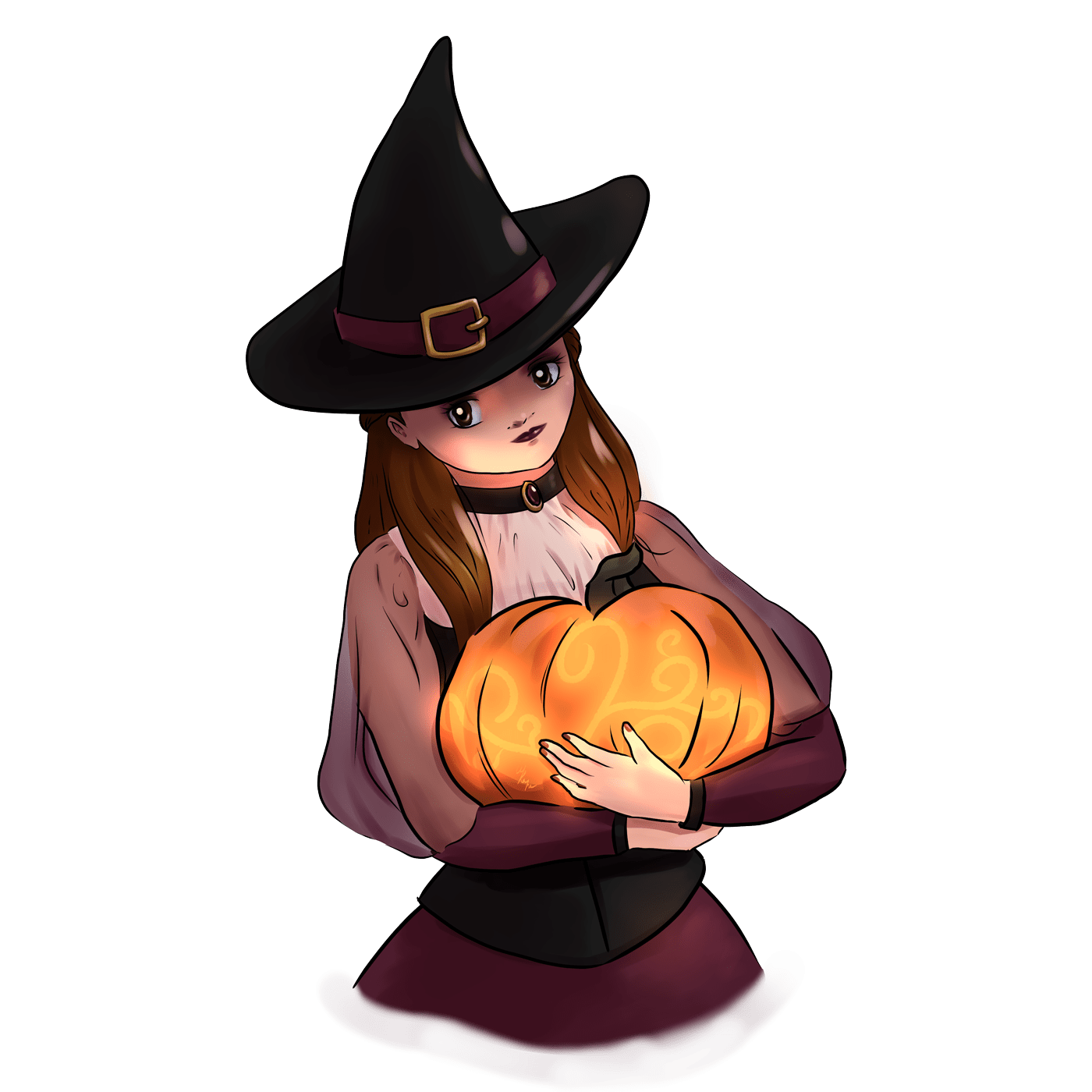 Witchy Me anime illustration