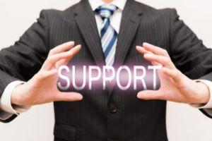 サポート、相談、手助け