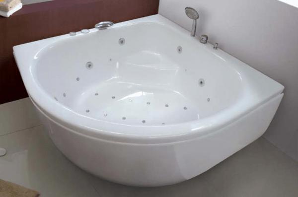 อ่างอาบน้ำลอยตัวแบบเข้ามุม